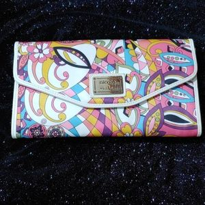 Nicole by Nicole Miller Paisley Clutch